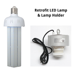 Highbay Retrofit LED Lamp & Lamp Holder